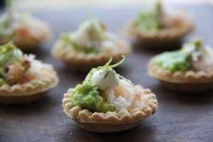 Crab Tartlets