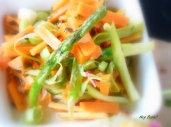 Asparagus 'Slaw