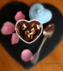gf tart with spoon