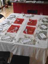 Class table setting