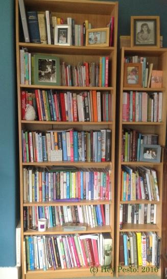 book shelf colour