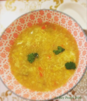 Crab & Sweetcorn Soup