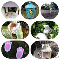 Easter Egg Hunt Collage