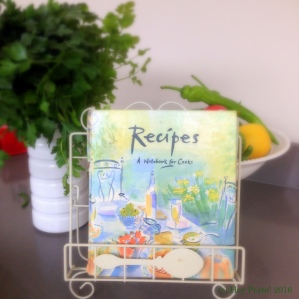 My recipe notebook